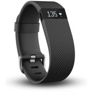 Fitbit Charge HR Wireless Activity Wristband. Black. Small