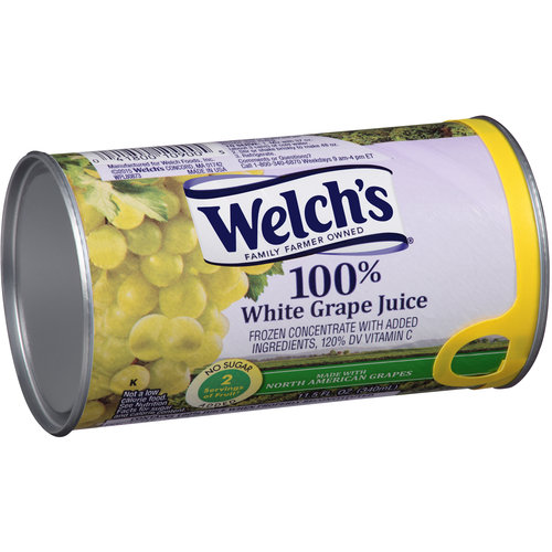 Welch's Frozen 100% White Grape Juice Concentrate, 11.5 oz