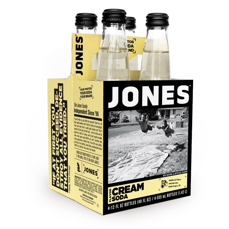 Jones Soda  Pure Cane Cream Soda (12 Pack)