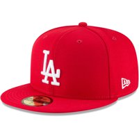 Los Angeles Dodgers New Era Fashion Color Basic 59FIFTY Fitted Hat - Red