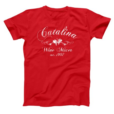 - The Catalina Wine Mixer Small Red Basic Men's T-Shirt