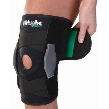 495dfd570f Mueller 081546191 Green Adjustable Hinged Knee Brace - Walmart.com