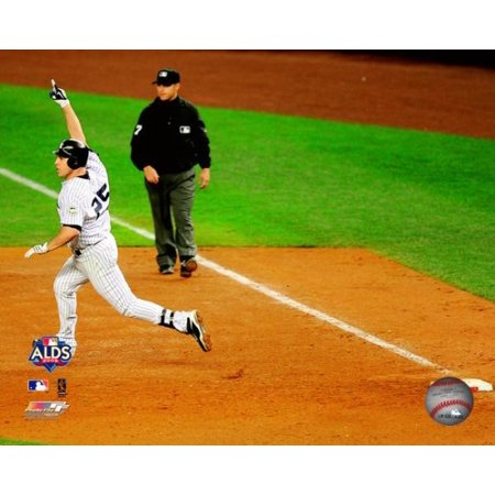 - Mark Teixeira Game Two of the 2009 ALDS Walk Off Home Run Photo Print