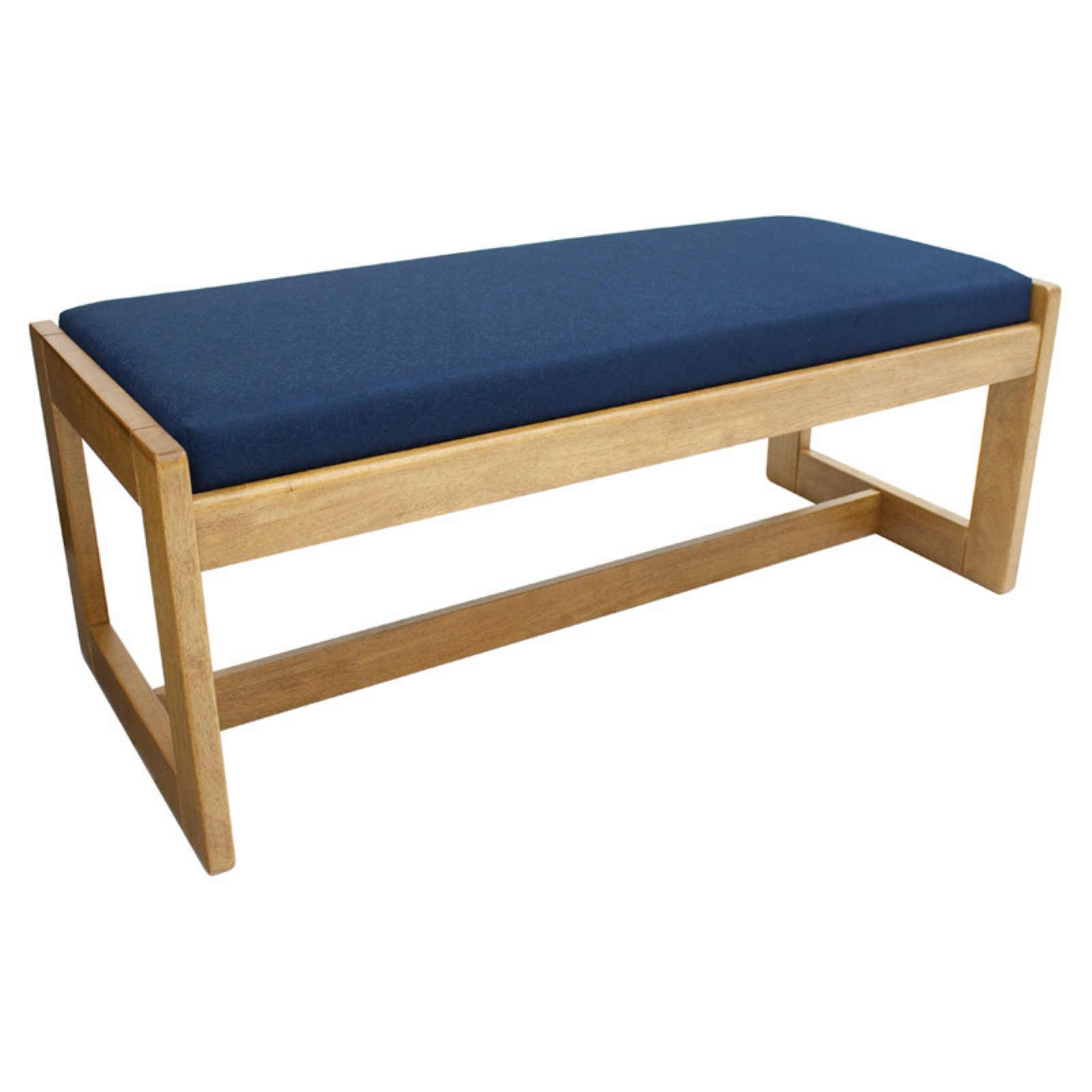 Belcino Medium Oak Double Seat Bench, Multiple Colors