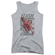 Flash Gordon To The Rescue Juniors Tank Top Shirt