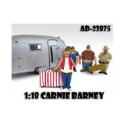 American Diorama 23875 Carnie Barney Trailer Park Figure for 1-18 Diecast Model Cars