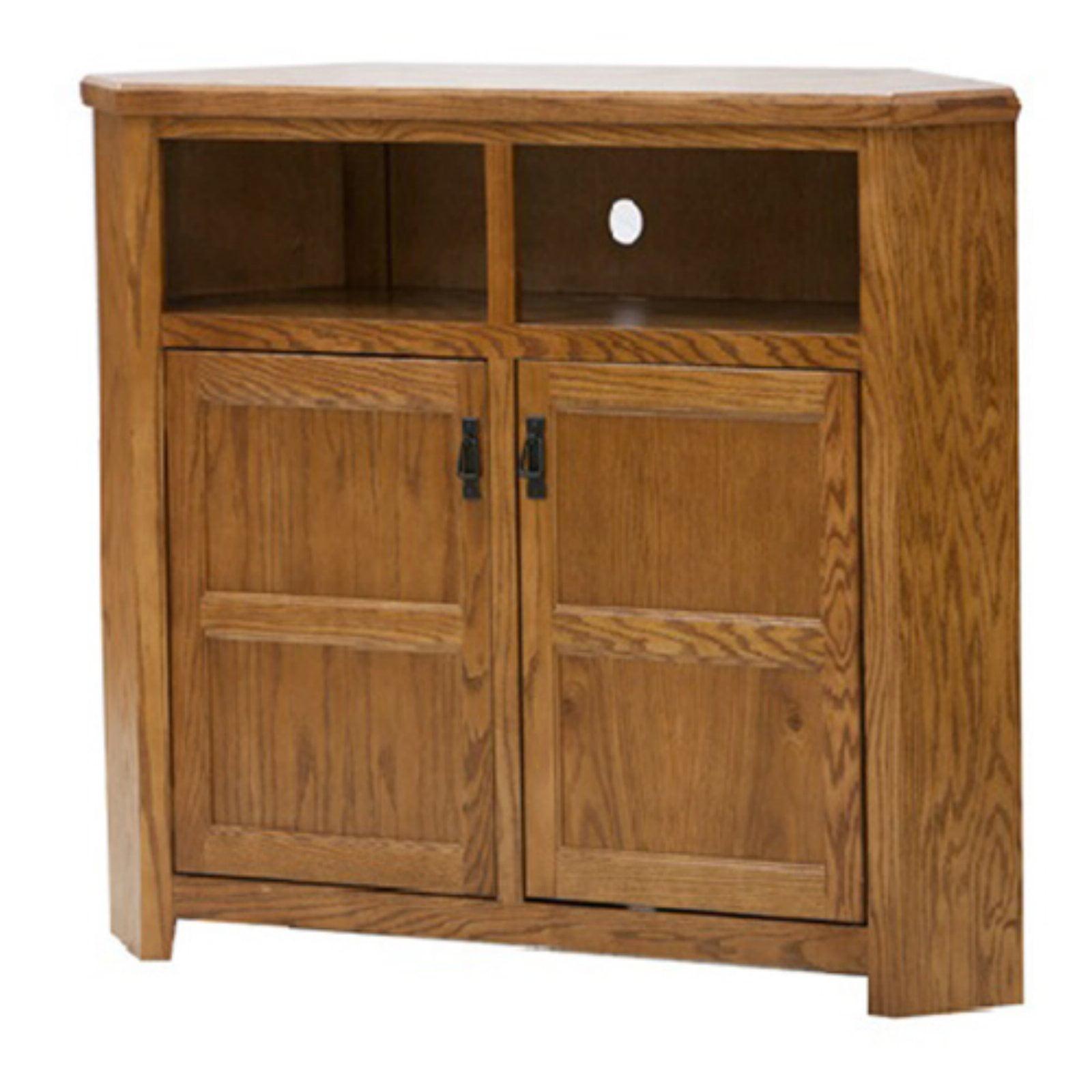 Eagle Furniture Mission 50 in. Wide Corner TV Console