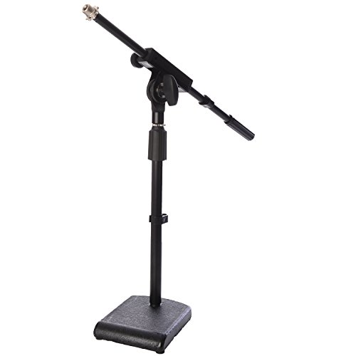 LyxPro KDS-1 Kick Drum Mic Stand, Low Profile Height Adjustable Microphone Boom Stand,... by LyxPro