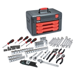 143 Pc. Master Tool Set W/Drawer Style Carry Case