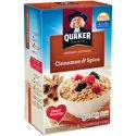 Quaker Instant Oatmeal Cinnamon & Spice