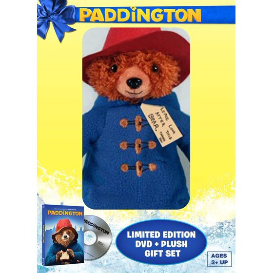 Paddington Limited Edition Dvd Digital Copy Plush Bear
