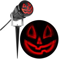 Lightshow Projection ShadowWaves Happy Jack O Lantern (Red) by Gemmy Industries