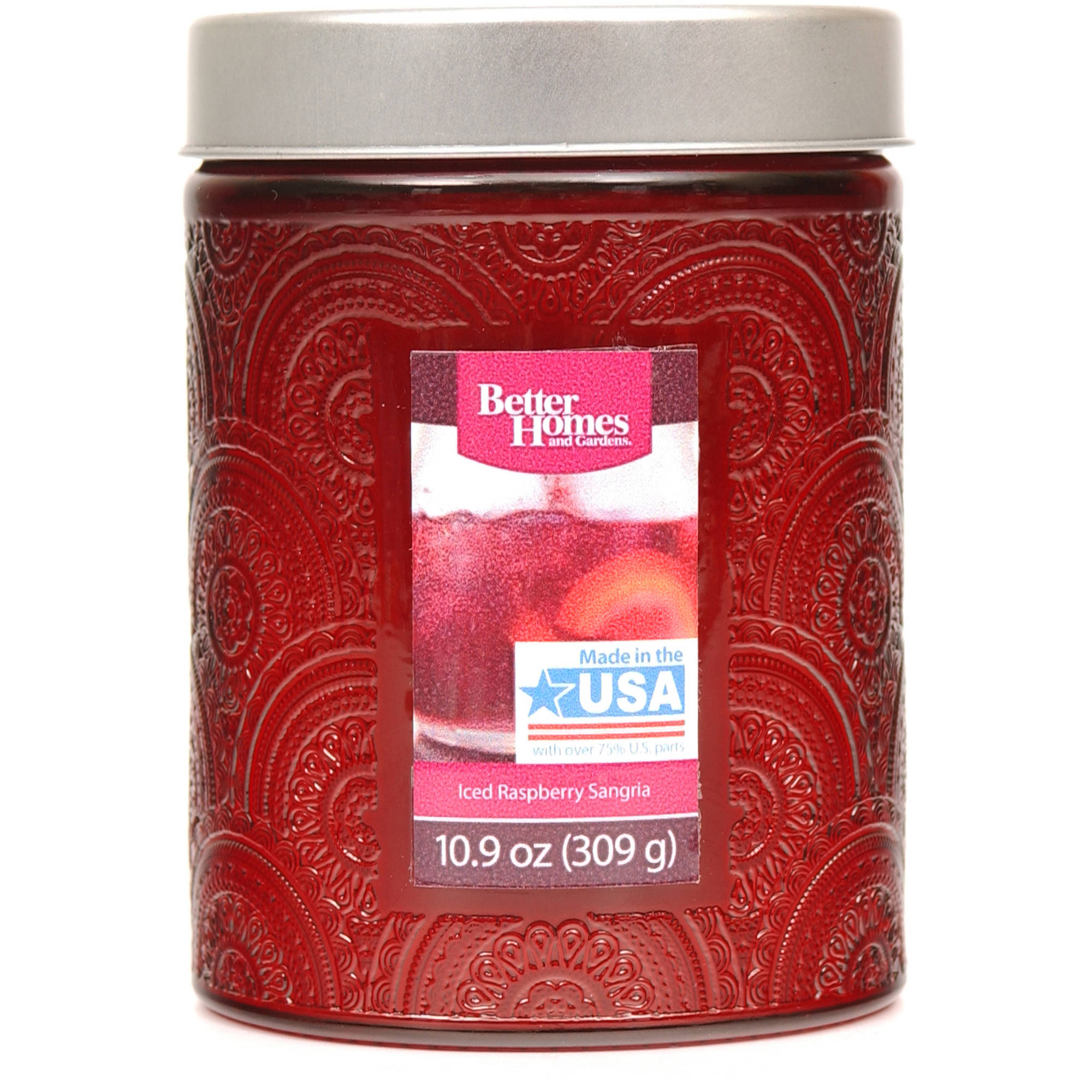 Better Homes and Gardens 10.9-Ounce Candle, Iced Raspberry Sangria