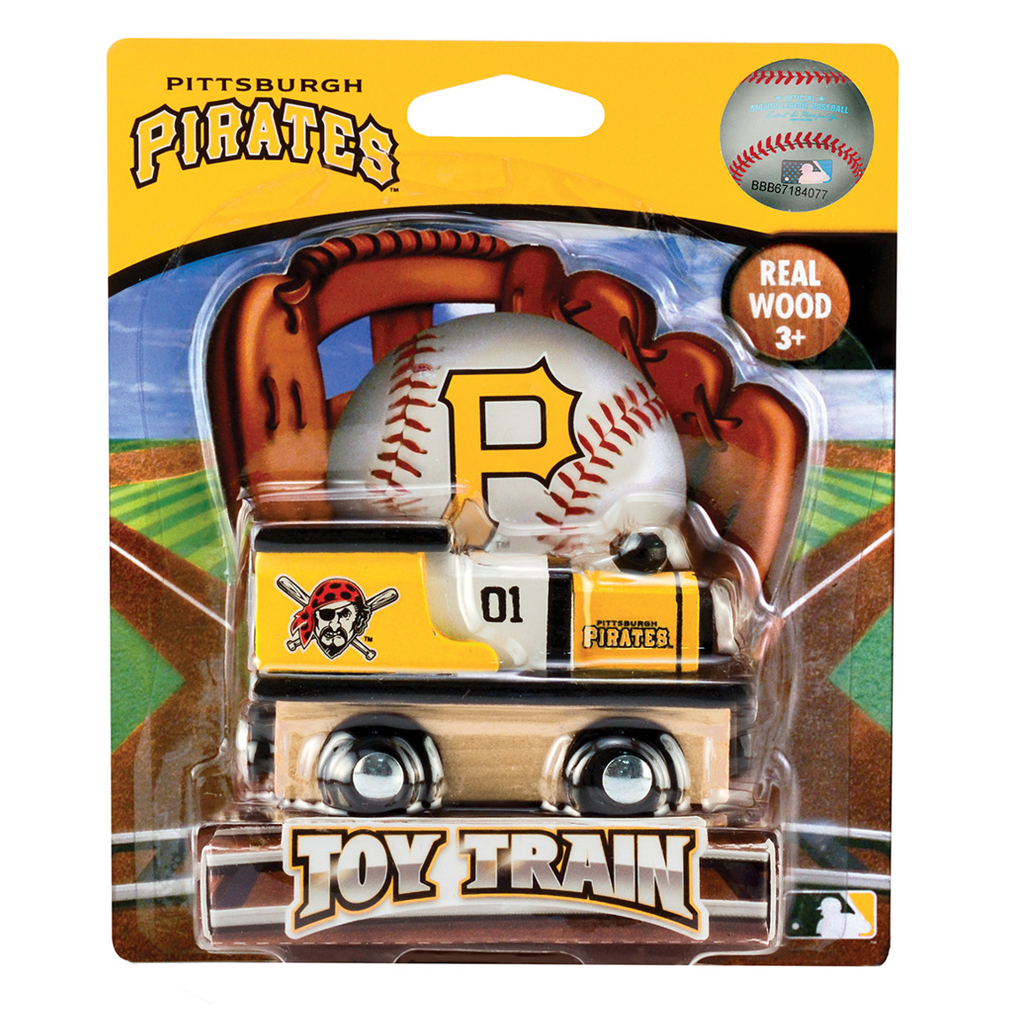 Pittsburgh Pirates Youth Toy Train - No Size
