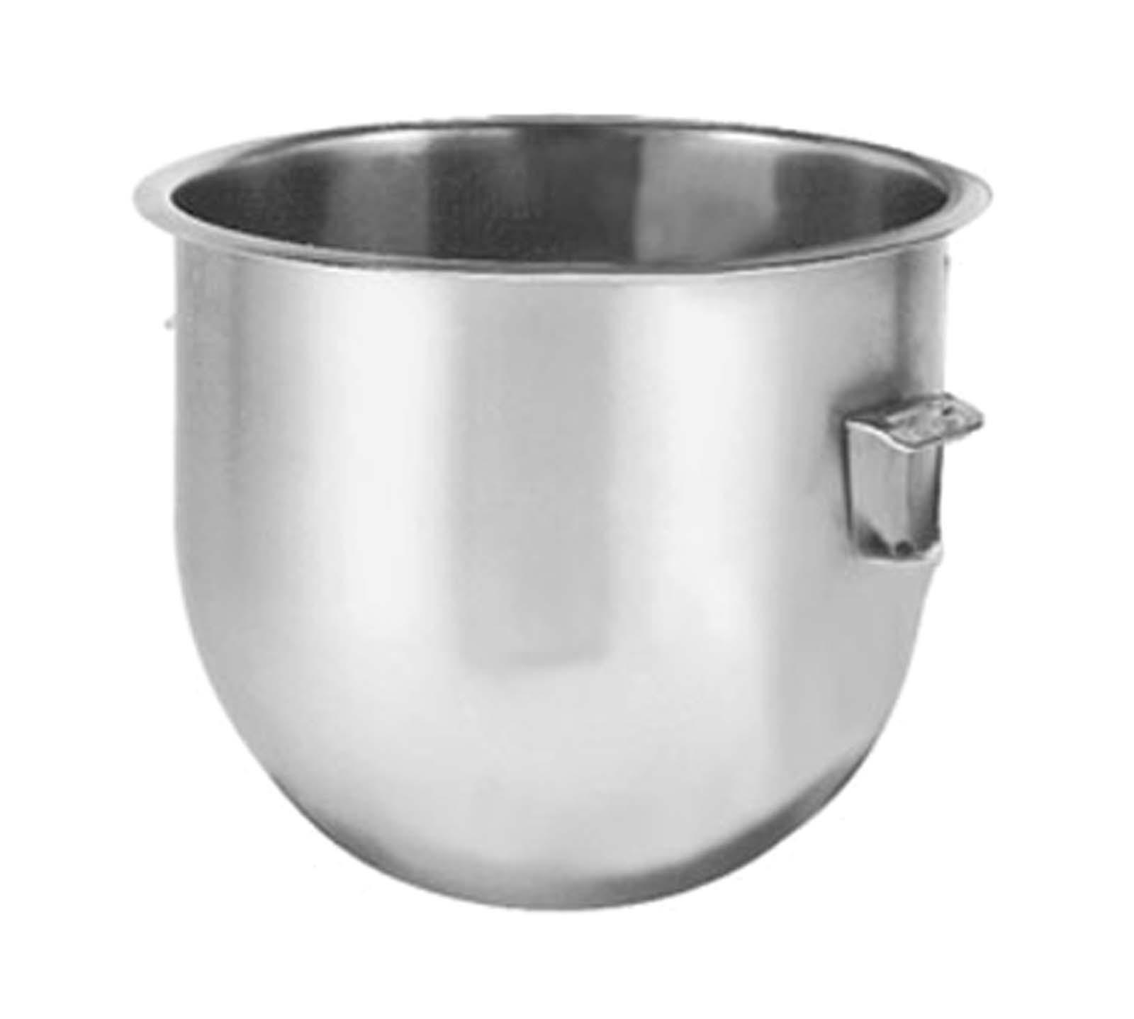 Hobart BOWL-SST005 5 qt. Stainless Steel Mixing Bowl N50 Replacement by