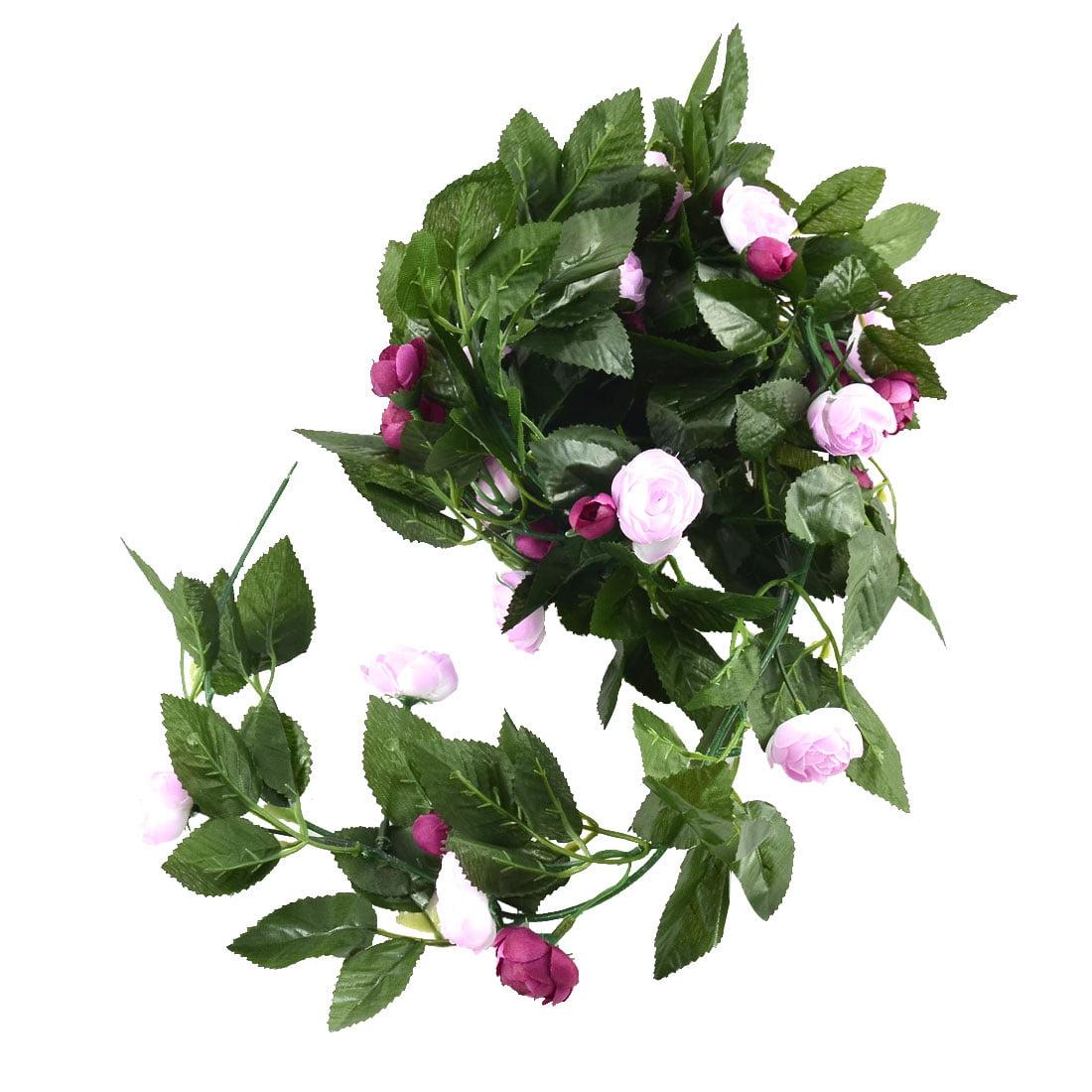 Home Wedding Part Festival Decor Artificial Flower Hanging Vine - image 2 of 2