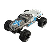 ECX Ruckus 2WD Monster RTR Truck (1/10 Scale), Charcoal/Silver