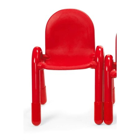 11 in. Angeles BaseLine Child Chair in Candy Apple Red
