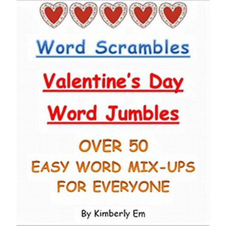 Word Scrambles: Over 50 Valentine's Day Word Jumbles - eBook](Halloween Word Jumbles)