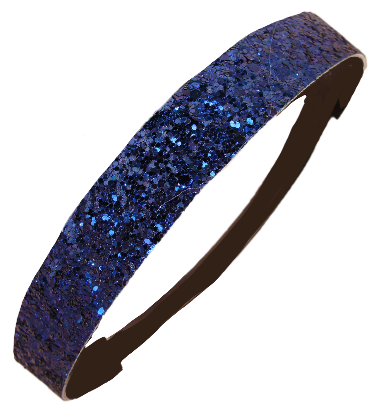 Kenz Laurenz Glitter Headband Girls Headband Sparkly Hair Head Band Navy