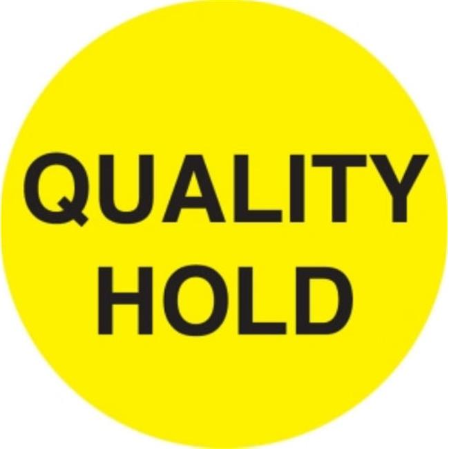 Ace Label 66980F 2 inch Circle Quality Hold