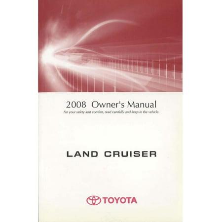 Bishko OEM Maintenance Owner's Manual Bound for Toyota Land Cruiser 2008