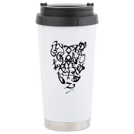 CafePress - A Shadowhunter(S) Heart - Stainless Steel Travel M - Stainless Steel Travel Mug, Insulated 16 oz. Coffee Tumbler ()