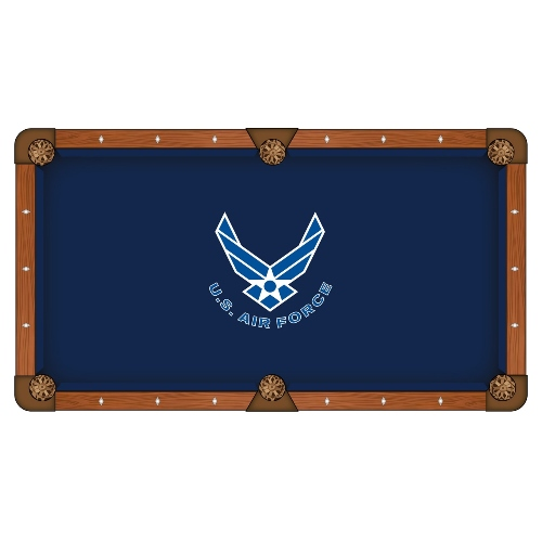Holland Bar Stool 9-Foot US Air Force Pool Tablecloth by Holland Bar Stool Co