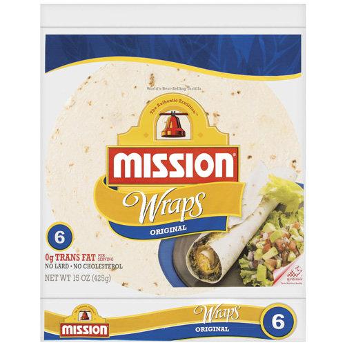 Mission® Original Wraps 15 oz. Package
