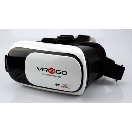 Vr2go 3D Virtual Reality Headset   Compatible With Iphone And Android Devices In White