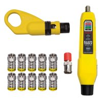 Deals on Klein Tools VDV002-820 Coax Connector Installation Test Kit