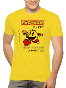 da224033 Product Image Mens Selena Short Pacman Kanji Graphic T-Shirt, up to 2XL