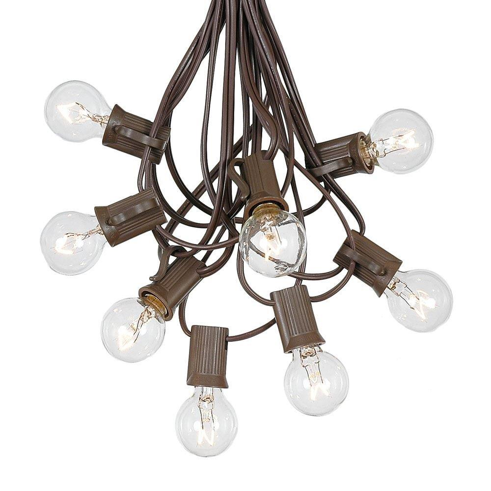 outdoor string lights vintage exterior g30 patio string lights with 25 globe bulbs garden hanging vintage backyard