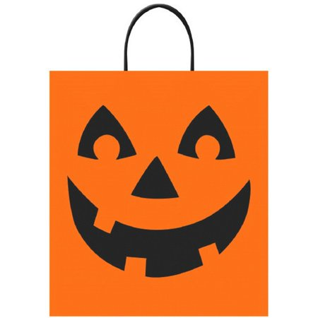 Jack O'Lantern Halloween Trick Treat Loot Party Tote Bag 16