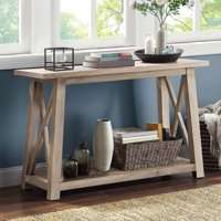 Better Homes & Gardens Granary Modern Farmhouse Console Table, Multiple Finishes