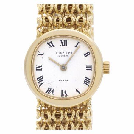 Pre-Owned Patek Philippe Ellipse 4188-2 Gold Watch (Certified Authentic & Warranty)