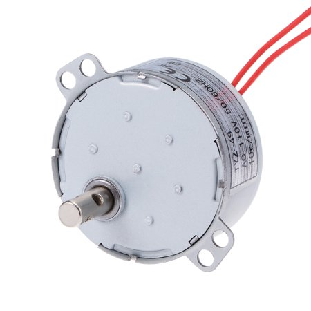 110V 50/60Hz 10RPM CW AC Synchronous Motor Turntable Gear Box for Microwave - image 4 of 4