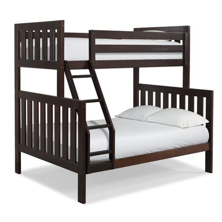 Canwood Twin Over Full Bunk Bed Espresso