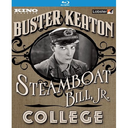 Steamboat Bill, Jr. / College (Blu-ray) - image 1 of 1
