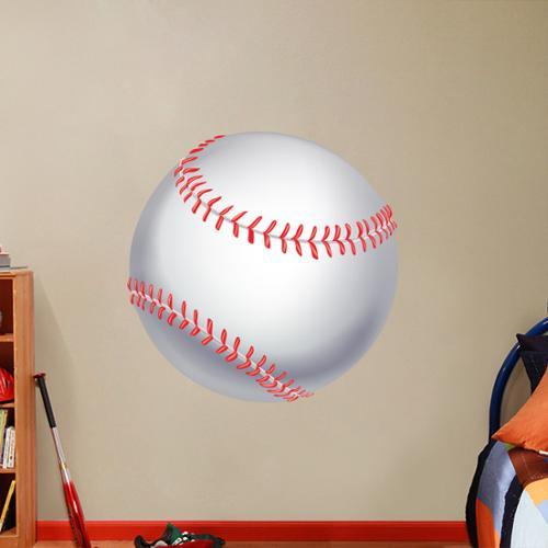 Sweetums Printed Baseball Wall Decal