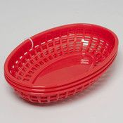 Ddi Hot Dog/Hamburger Basket Red 3Pk In Summer Display Box