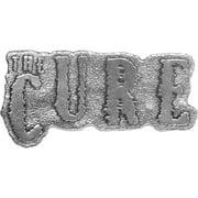 Cure Men's Shocking Logo Belt Buckle Silver