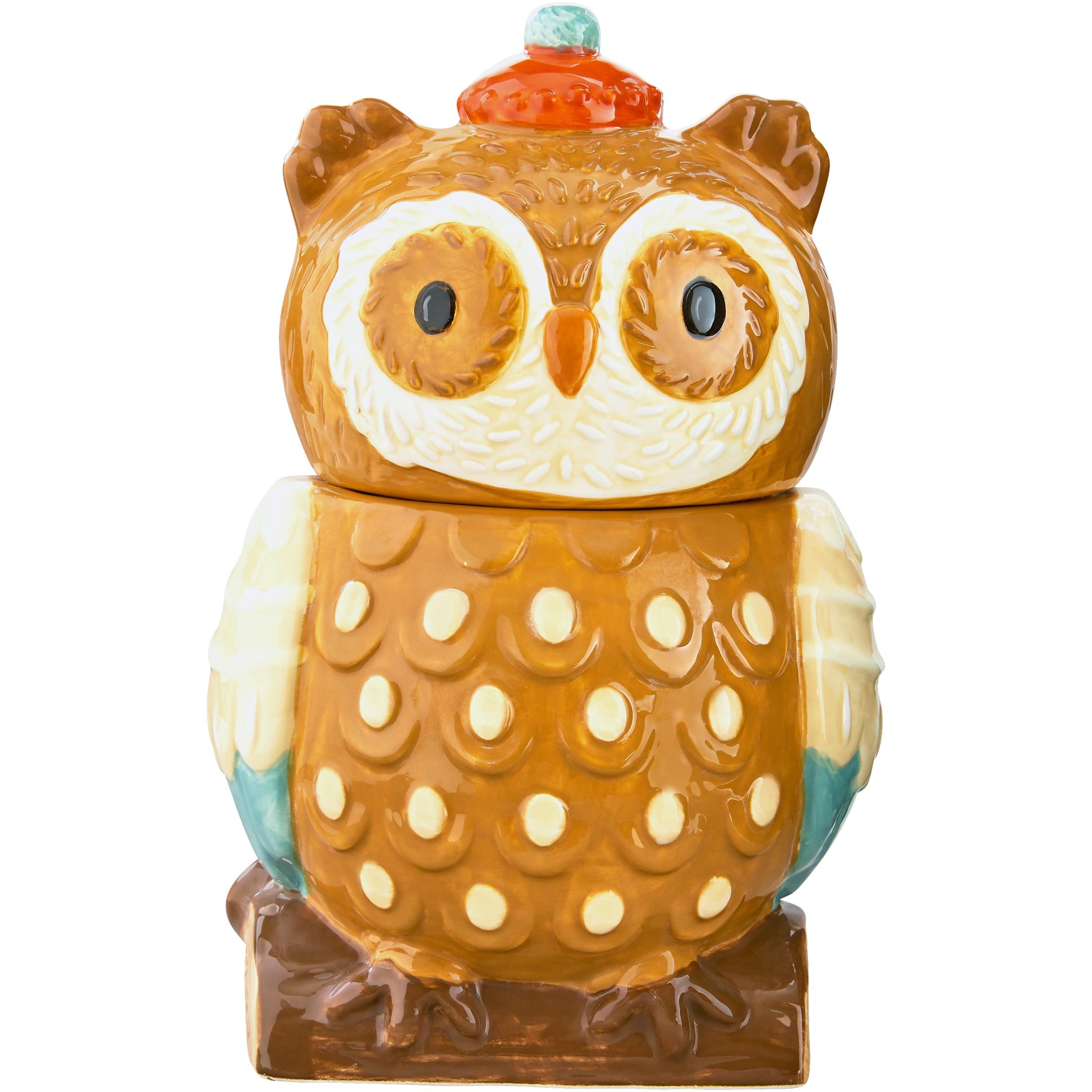 Harvest Owl Cookie Jar.