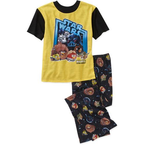 Angry Bird Star Wars Boys 2 Piece Pajama Set