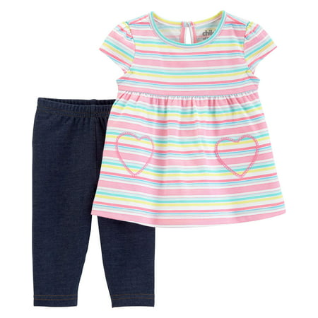 Tank Top and Pants Outfit Set, 2 pc set (Toddler - Blades Of Glory Outfit