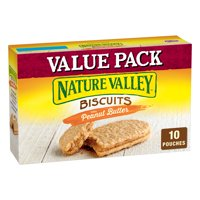 Nature Valley Biscuits With Peanut Butter, 13.5 oz, 10 Count
