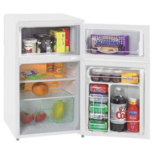 Avanti RA303WT-1 3.1-cu.-ft. Two Door Counterhigh Refrigerator - White