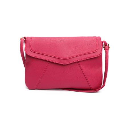 Fashion Women Vintage Envelope Bag Purse Crossbody Small Leather Style Shoulder  Bag Handbag - Walmart.com aa5426af1d848