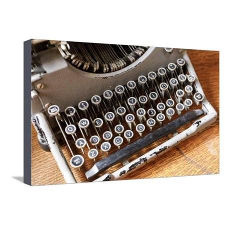 Vintage typewriter in a consignment store in Santa Fe, New Mexico. Stretched Canvas Print Wall Art By Julien (Outlet Stores Santa Fe)
