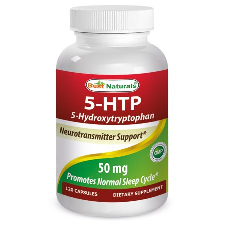 Best Naturals 5-HTP 50 mg Capsules, 120 Ct